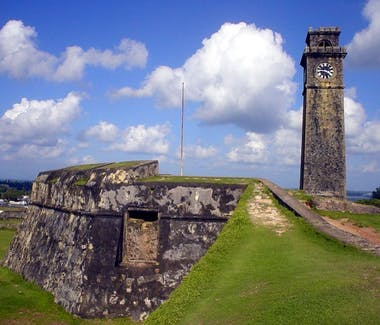 Galle Fort Ramparts UNESCO World Heritage Site