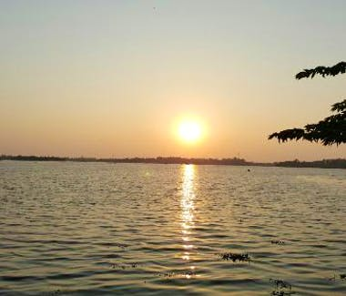 Sunset at Bolgoda Lake