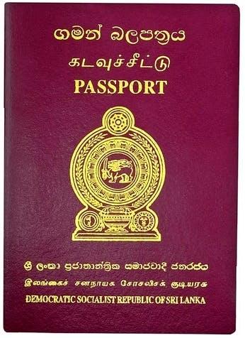 Sri Lankan Passport Holders Sri Lankan Resident Visa Holders Locals Expats