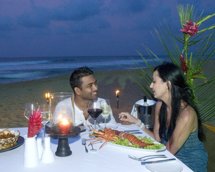 Intimate Dining Private Dining Romance Seafood