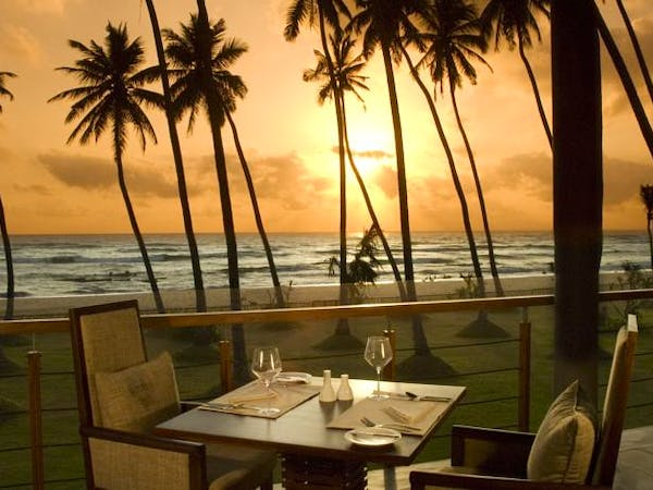 The Pavilions Restaurant Sunset Ocean View International Cuisine