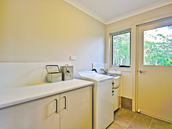Villa Three fully equipped laundry at Sea Mist Jervis Bay