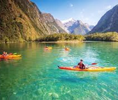 Kayaking Milford and Doubtful Sound is a more adventurous way to explore the Sounds