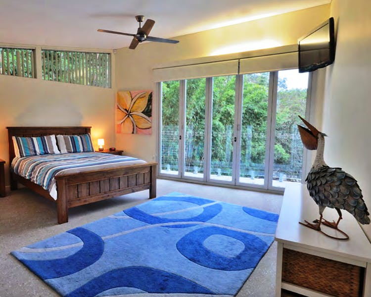 Crescent Head Sun Worship Eco Villas Villa 5 1st bedroom
