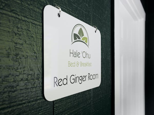 Red Ginger Room