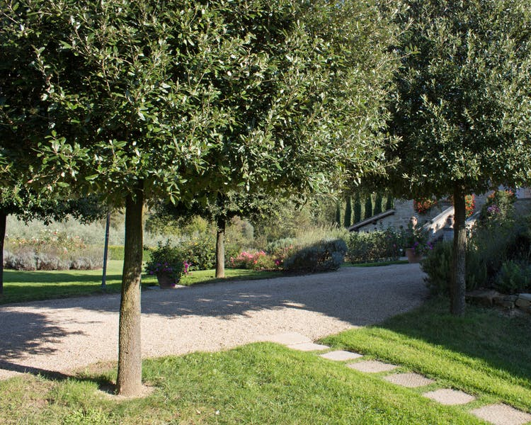 Casa Portagioia Tuscany bed and breakfast , entrance from venanzi