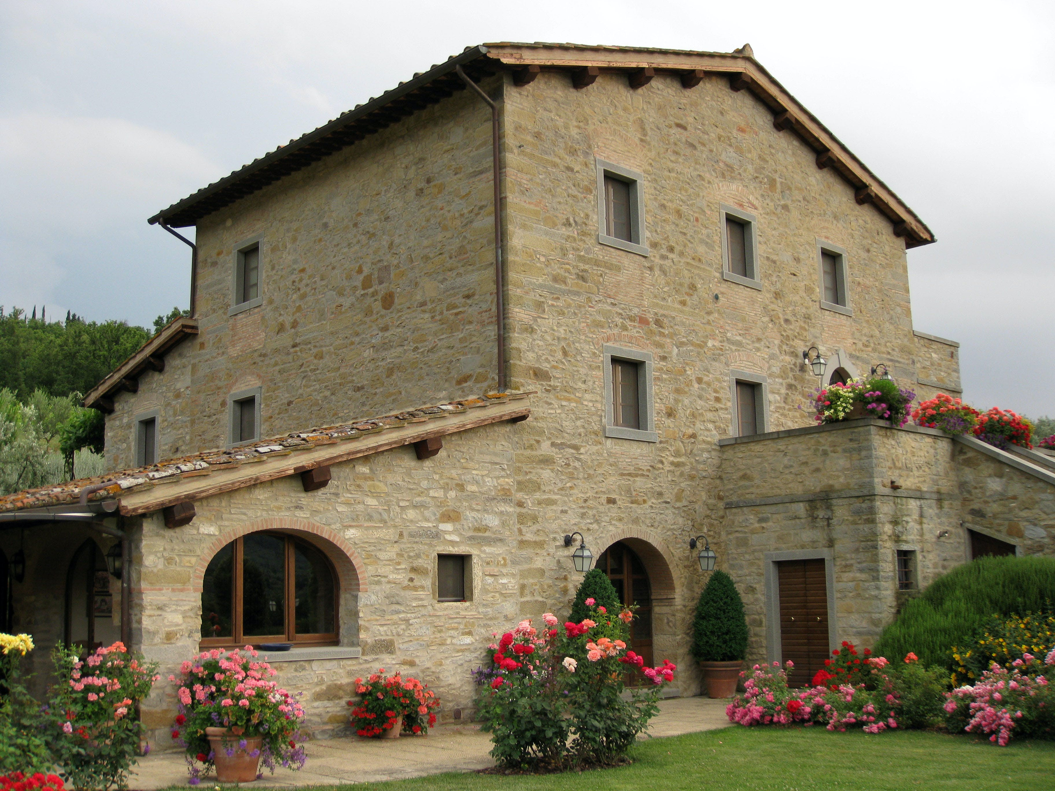 Casa Portagioia Tuscany bed and breakfast , garden