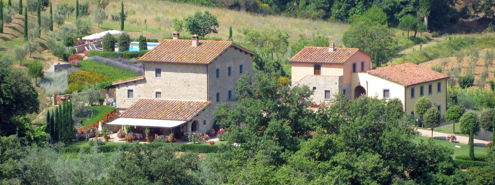 Casa Portagioia Tuscany bed and breakfast , views