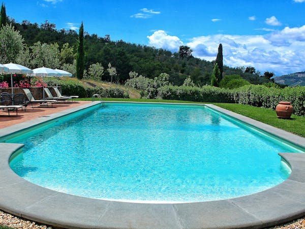 Casa Portagioia Tuscany bed and breakfast , Pool, Roman Steps