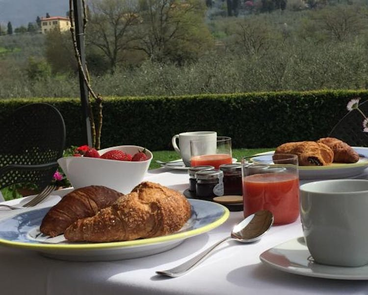 Casa Portagioia Tuscany bed and breakfast , breakfast
