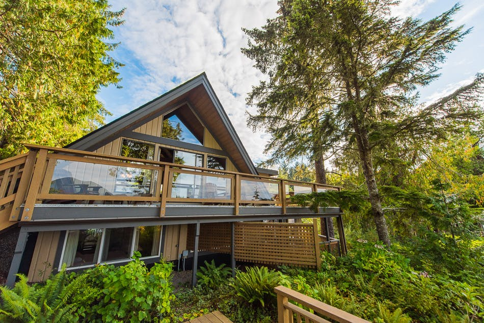 aframe house the shoreline tofino boutique hotel