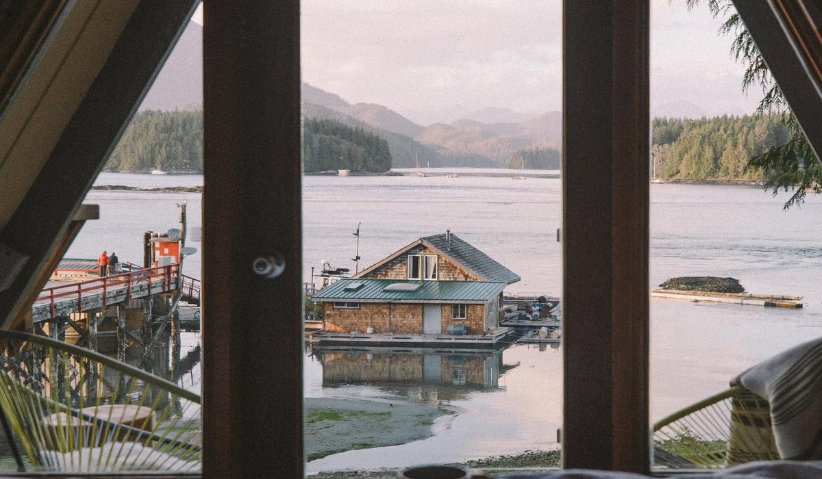 aframe oceanfront views the shoreline tofino boutique hotel
