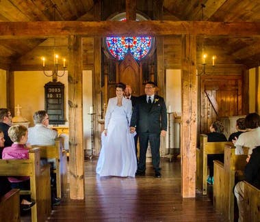 Historic White Pine Village - Chapel Wedding Service