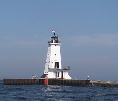 Ludington North Pier Lighthouse