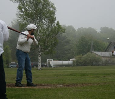 Historic White Pine Village - Classic baseball team