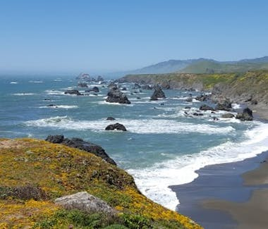 Pacific ocean, cliffs, beach, hiking, bodega bay, bodega bay inn