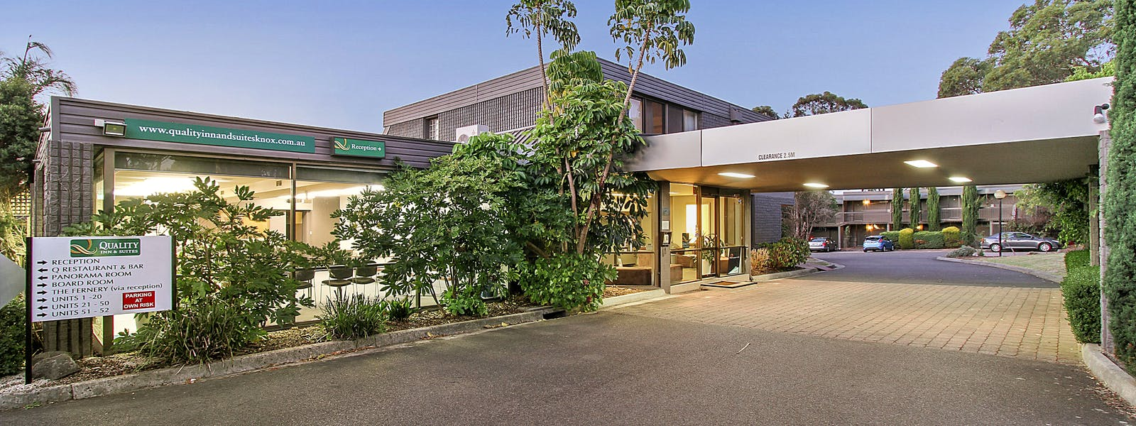 Quality Inn & Suites Knox Relax in our comfortable Wantirna hotel rooms and apartments