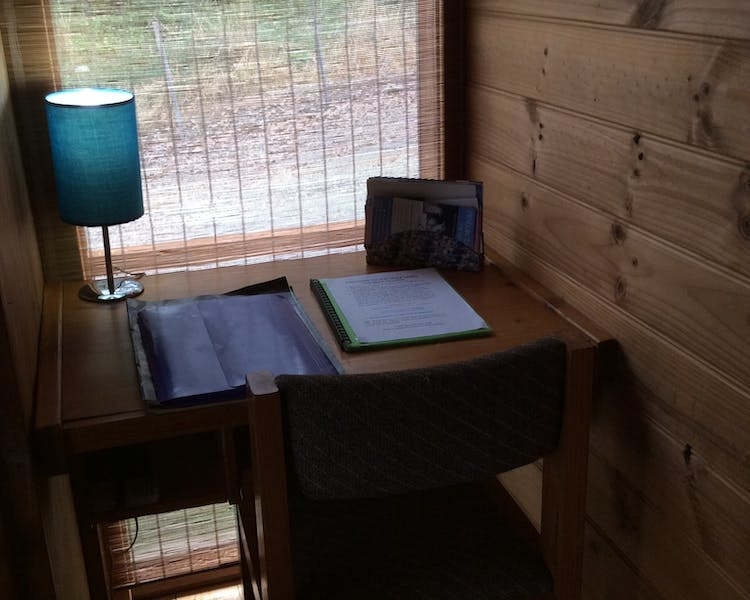 Trappers Lodge study nook