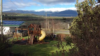 Childrens Playground with views of The Great Western Tiers