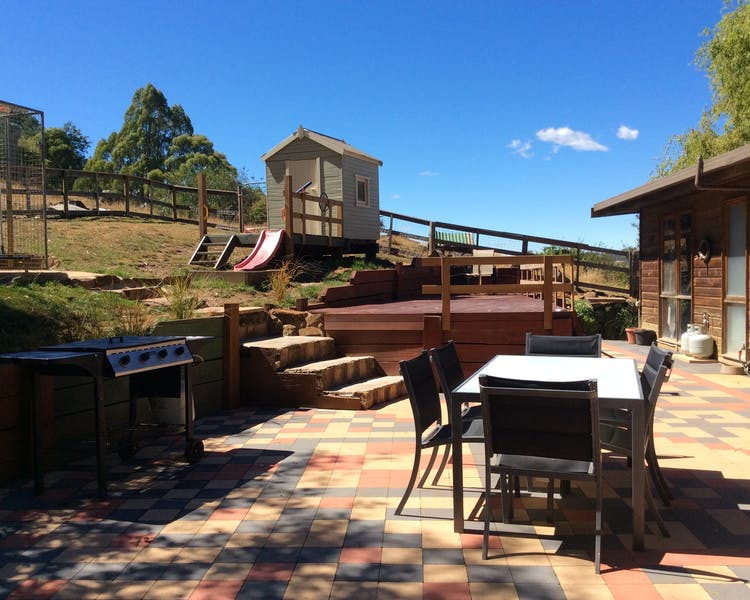 Trappers Lodge patio