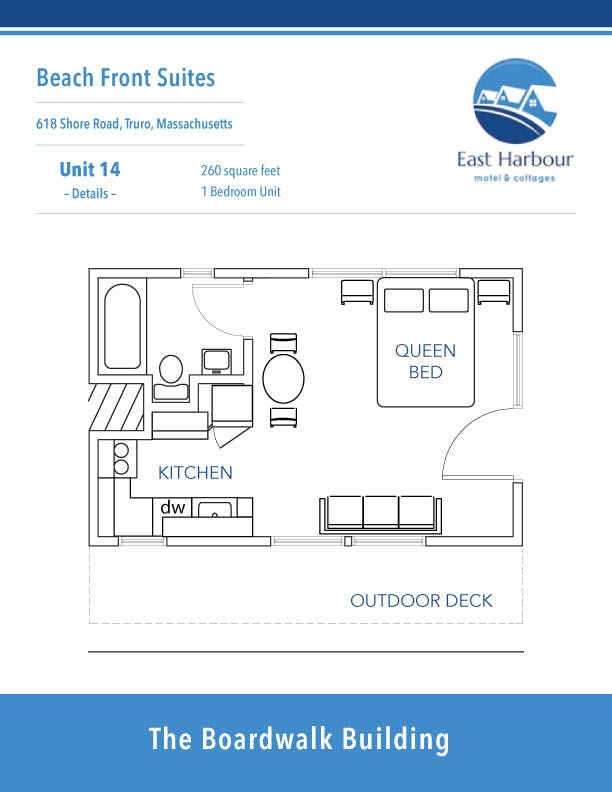 East Harbour - Unit 14 - Floorplan