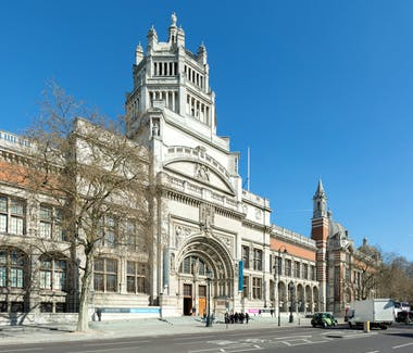 Facade of the V & A Museum