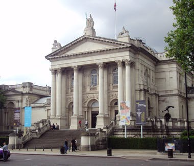 The exterior of Tate Britain