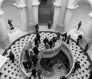The new stair at Tate Britain