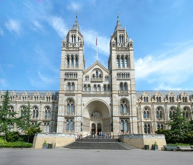 The exterior of the Natural History Museum