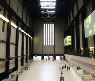 Tate Modern Art Gallery. Turbine Hall