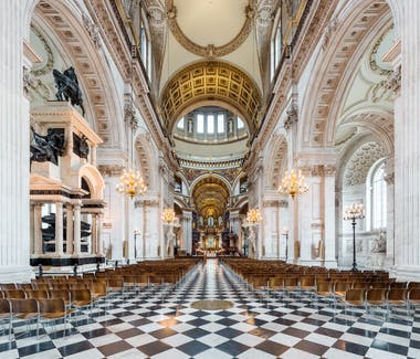St Paul's Cathedral interior