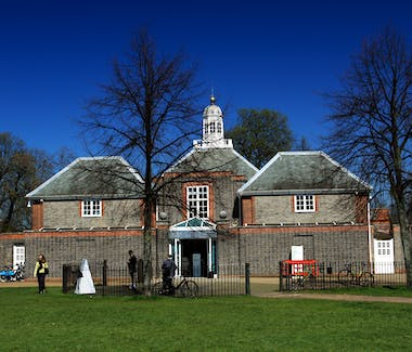 The exterior of the Serpentine Art Gallery