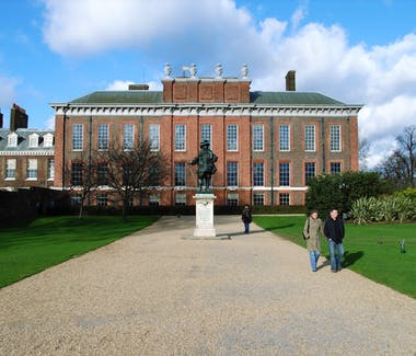 The exterior of Kensington Palace