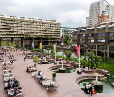 The Barbican Centre Terrace