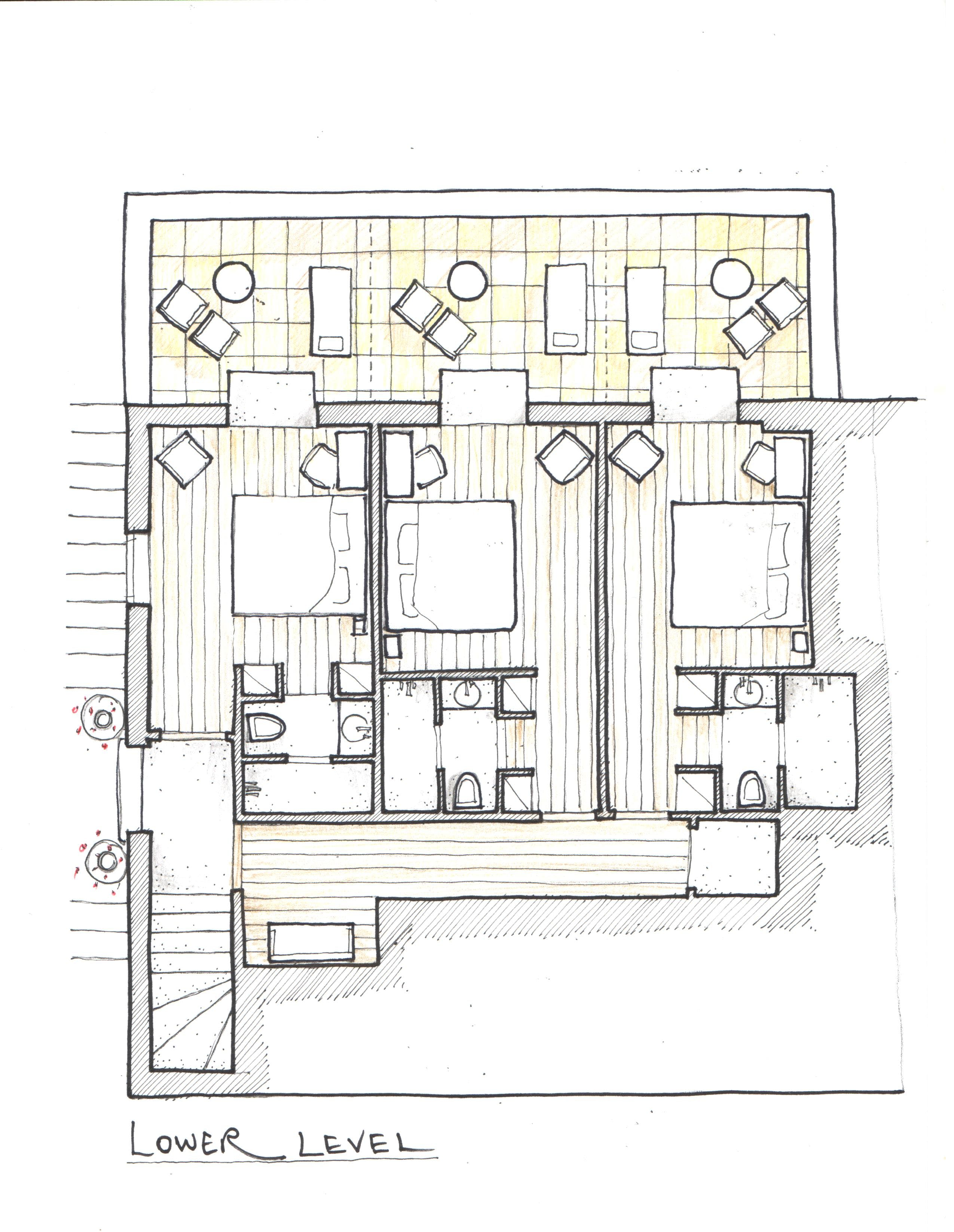 Limani life lower floor / terraces