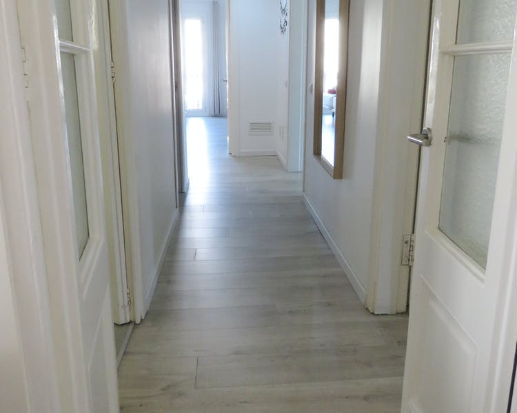 Four-Bedroom apartment hallway