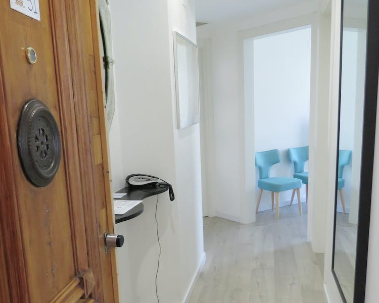 Three-Bedroom apartment entrance