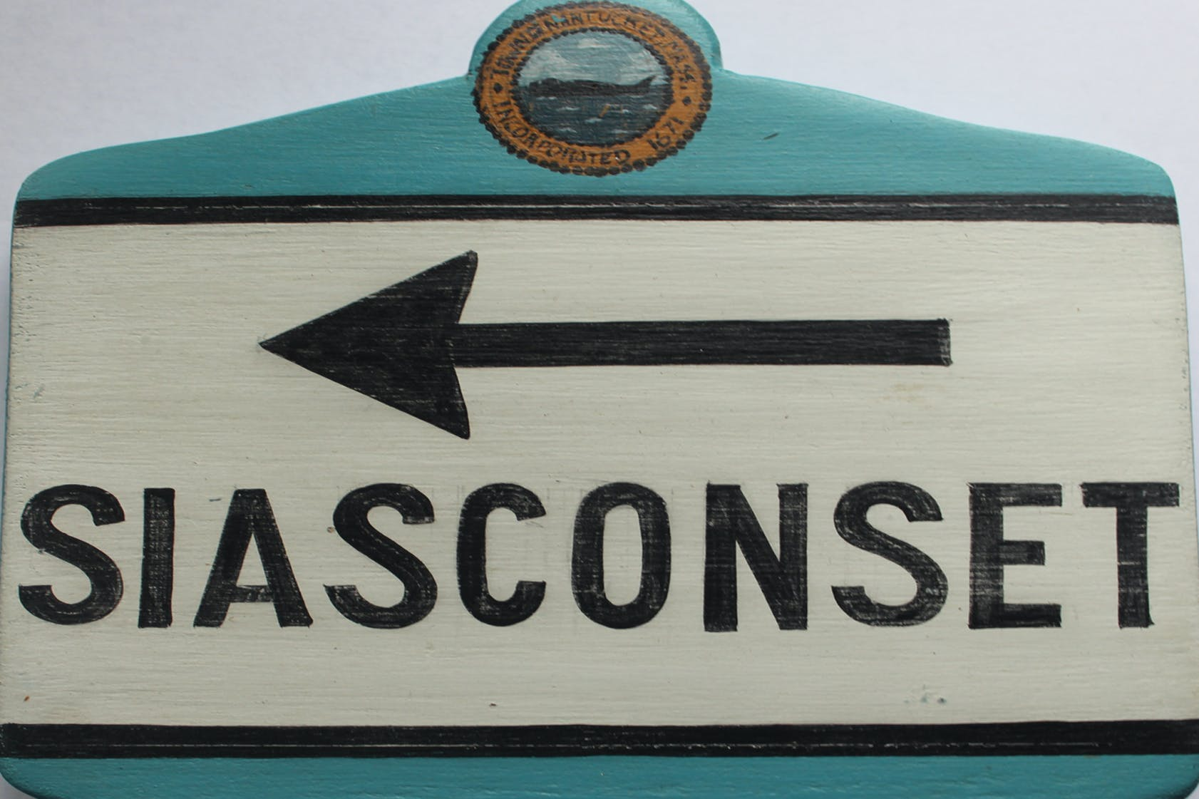 Siasconset room sign