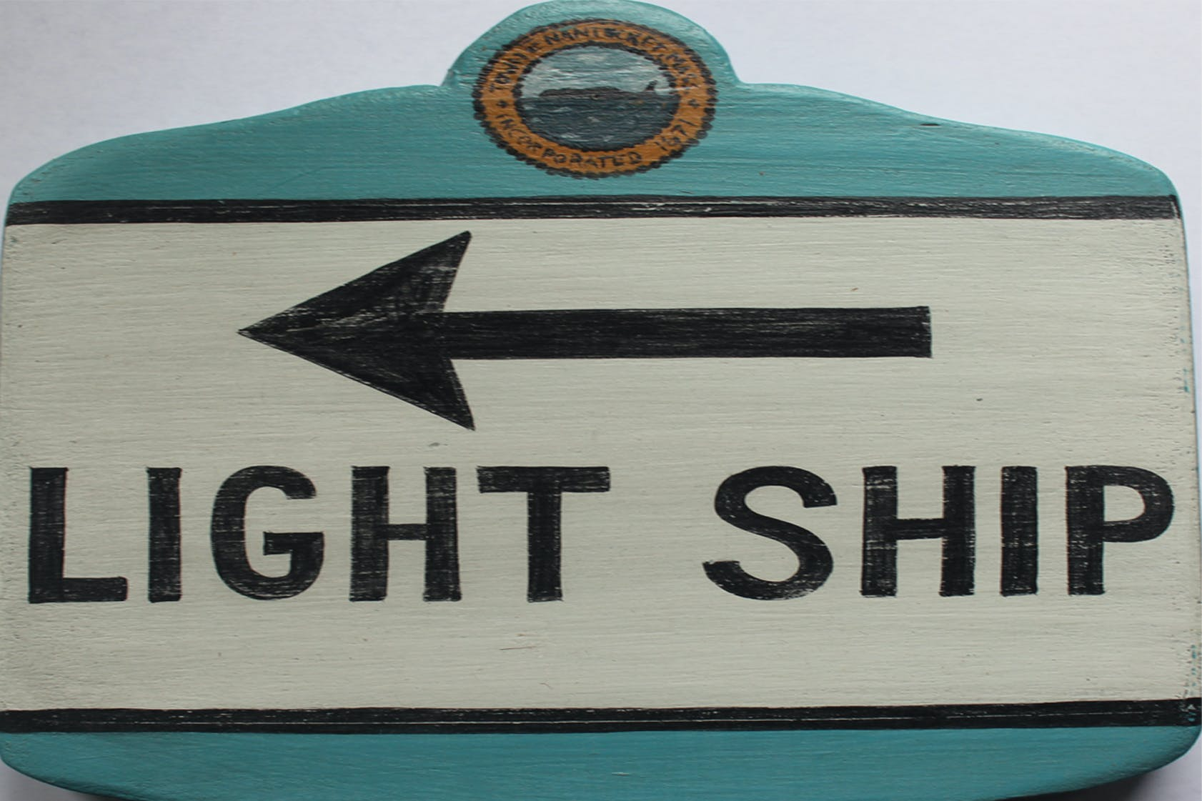 Light Ship room sign