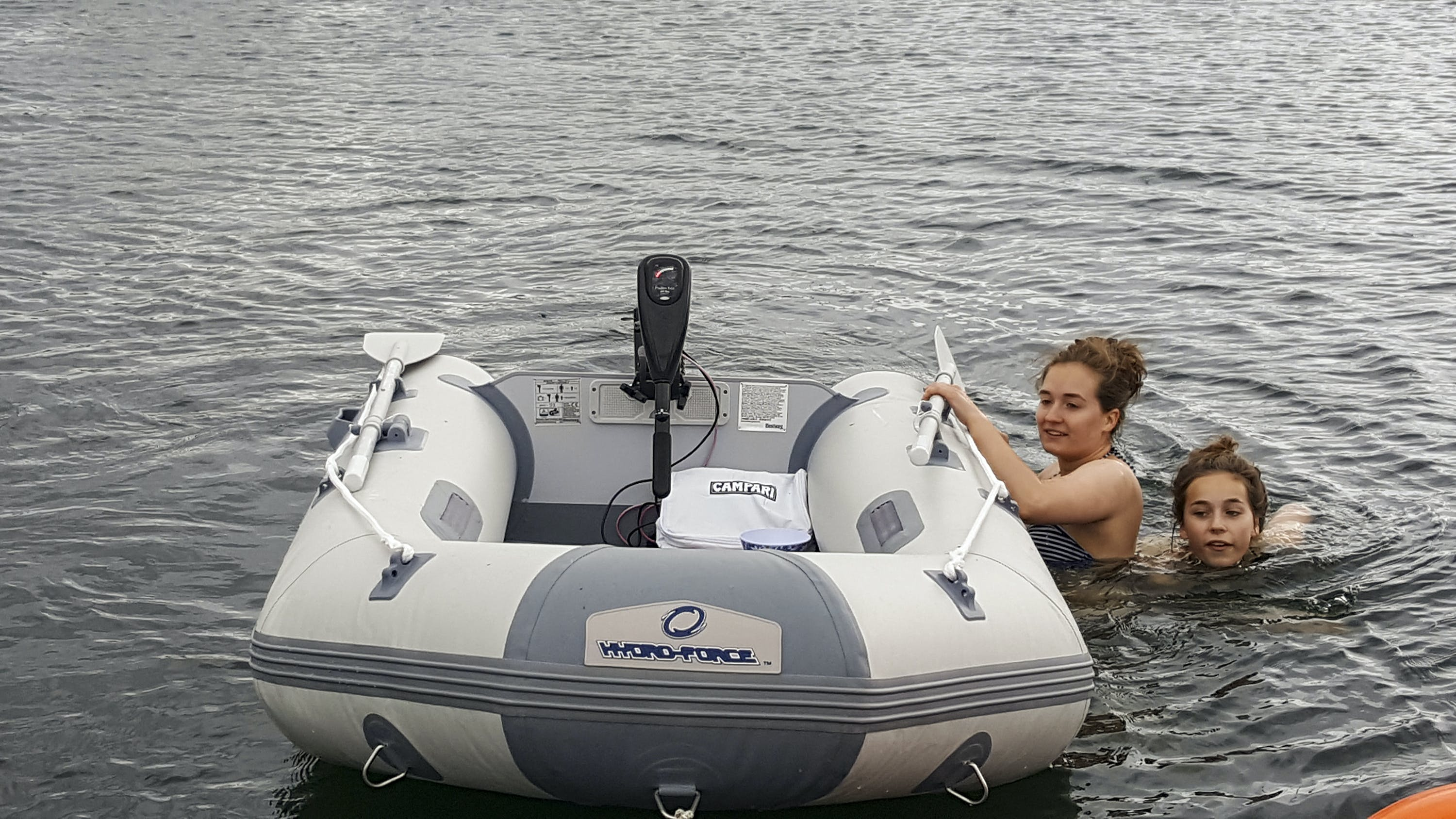 electric powered dinghy