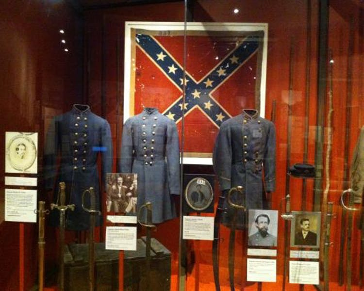 Confederacy Museum Display