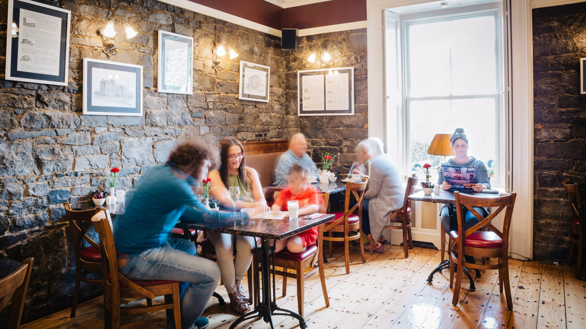 Cafe and lunch menus at Gleesons Restaurant & Rooms, Roscommon