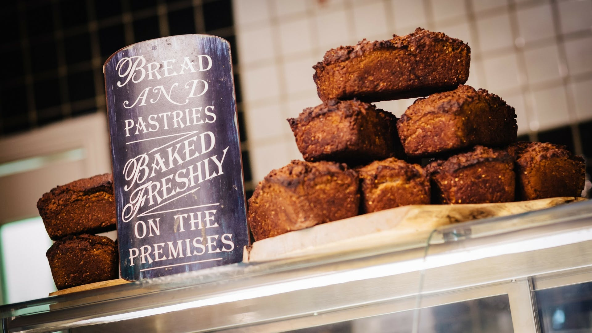Fresh homemade brown soda bread, baked daily at Gleesons Restaurant & Rooms, Roscommon