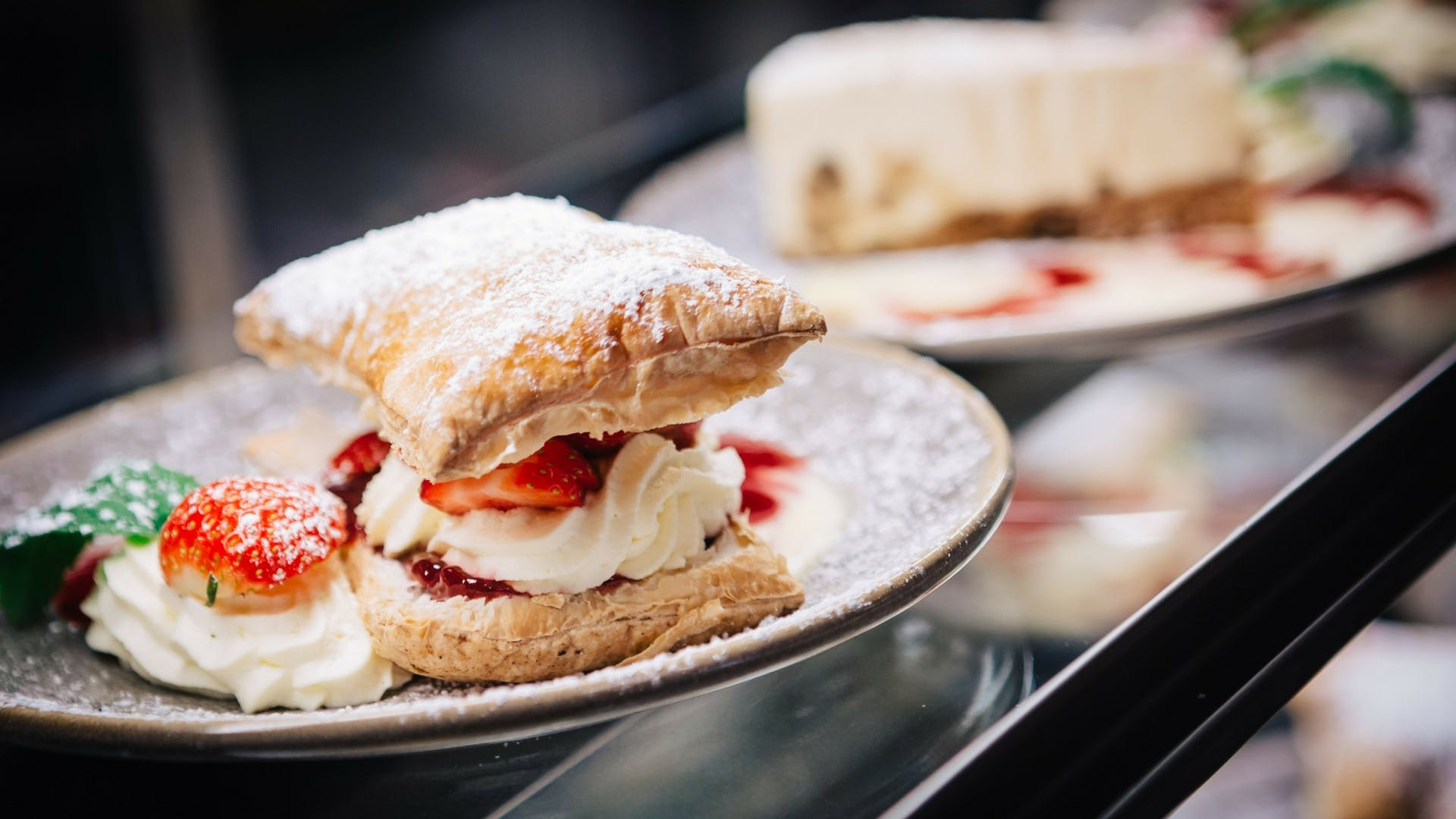 Homemade sweet treats at Gleesons Restaurant & Rooms, Roscommon