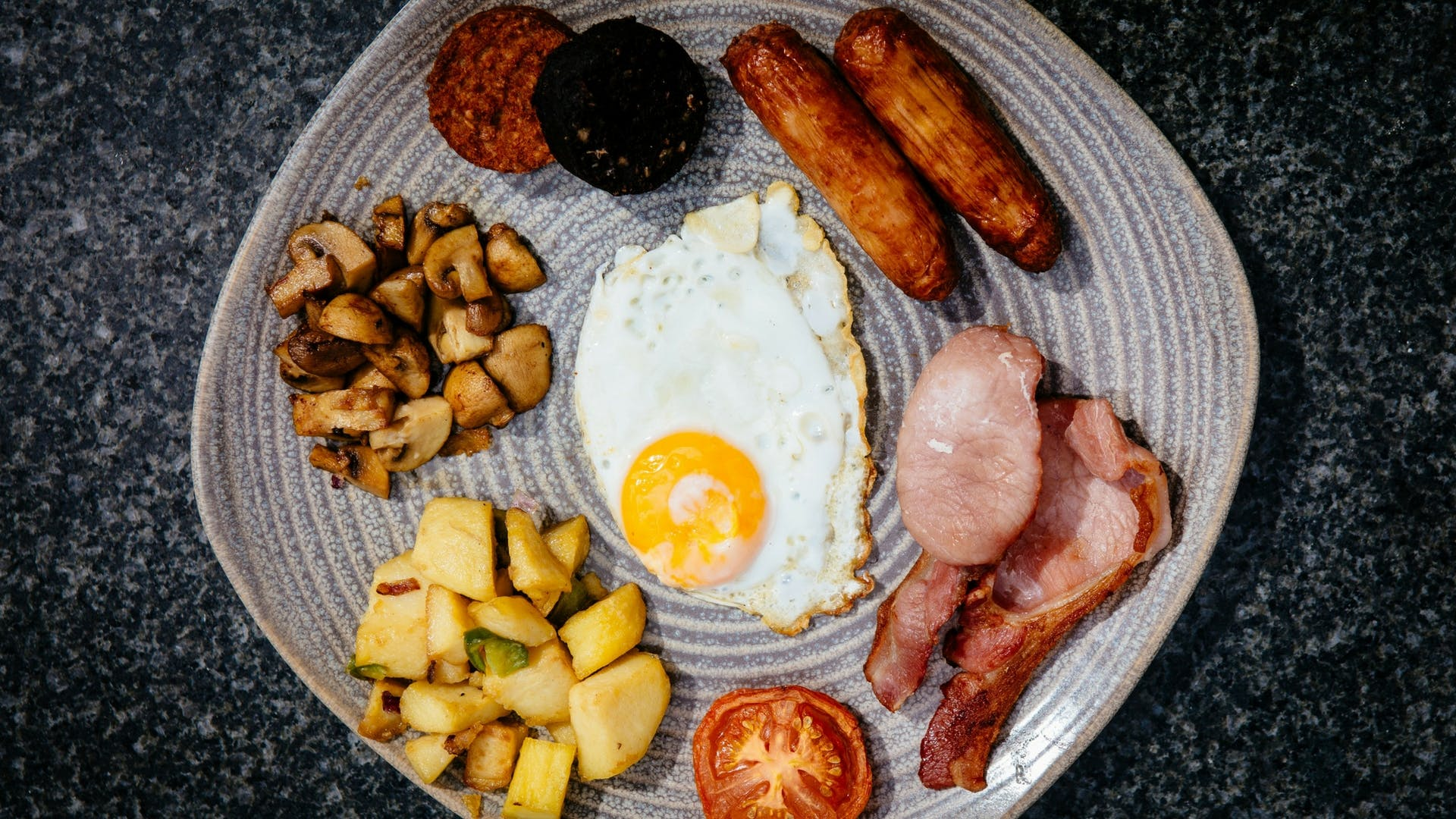 Full Irish Breakfast at Gleesons Restaurant & Rooms, Roscommon