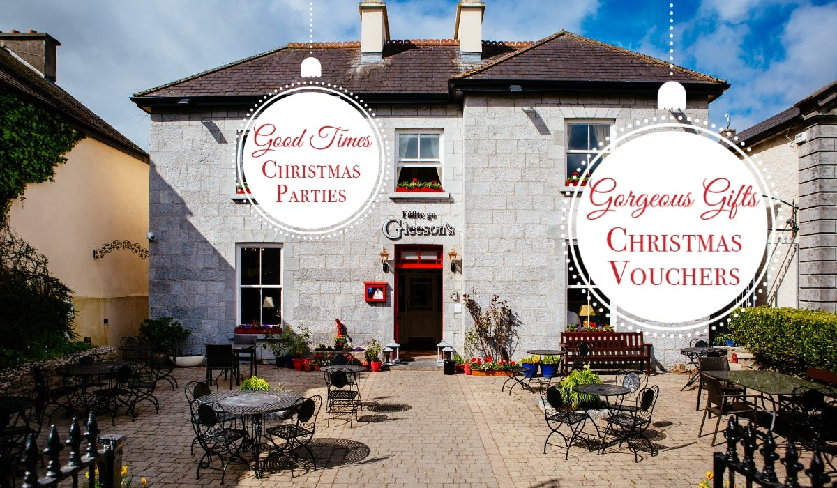 Christmas Dining and Gift Ideas at Gleesons Townhouse Roscommon