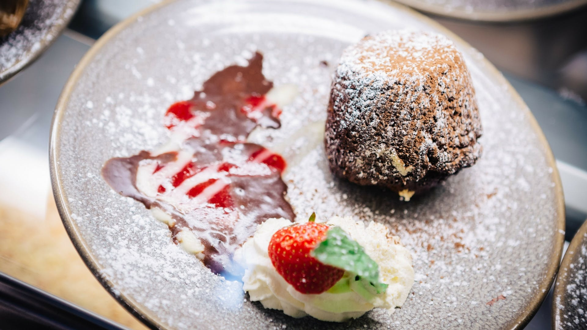 Homemade delicious desserts at Gleesons Restaurant & Rooms, Roscommon