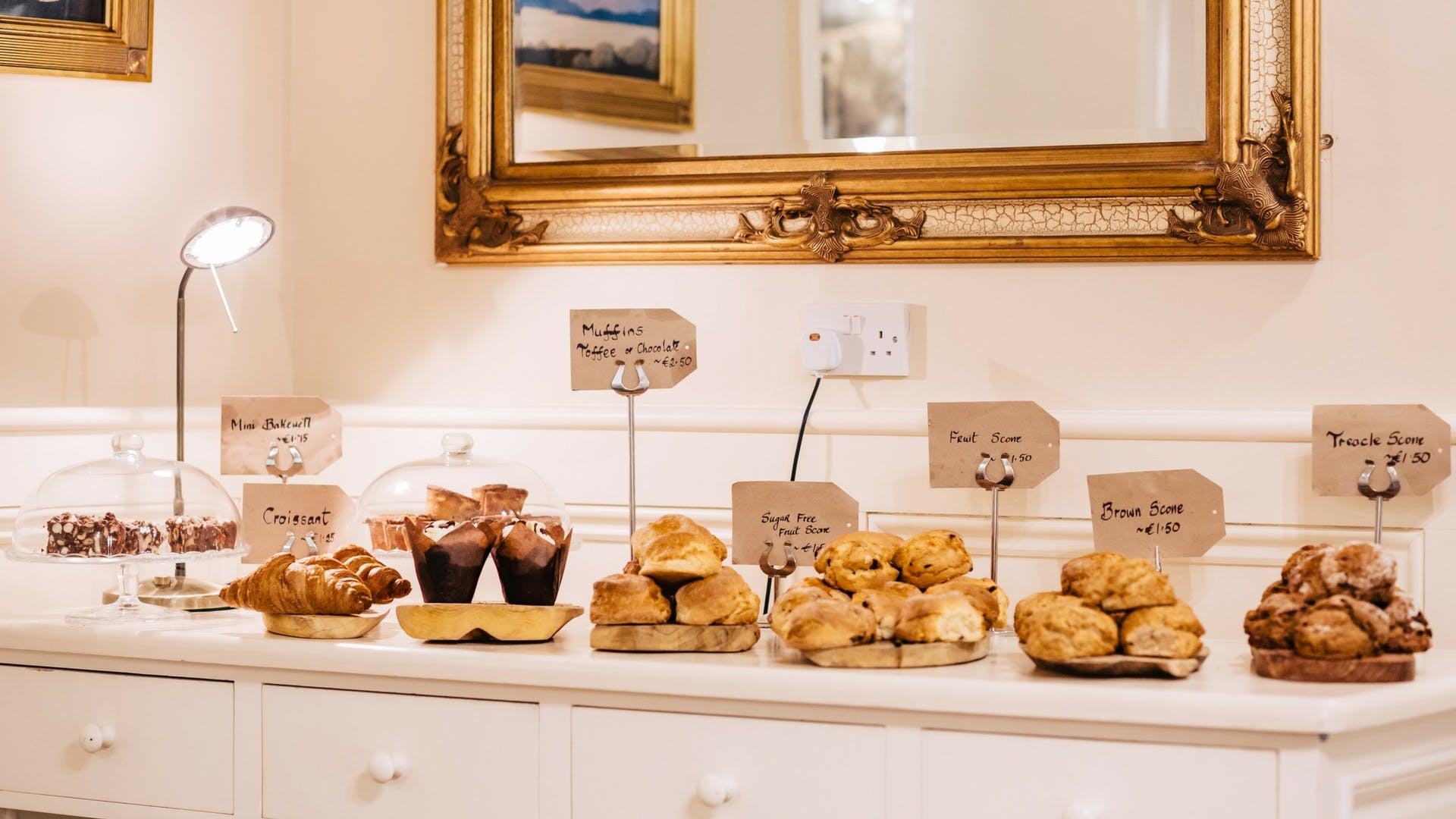 Homemade daily treats at Gleesons Restaurant & Rooms, Roscommon