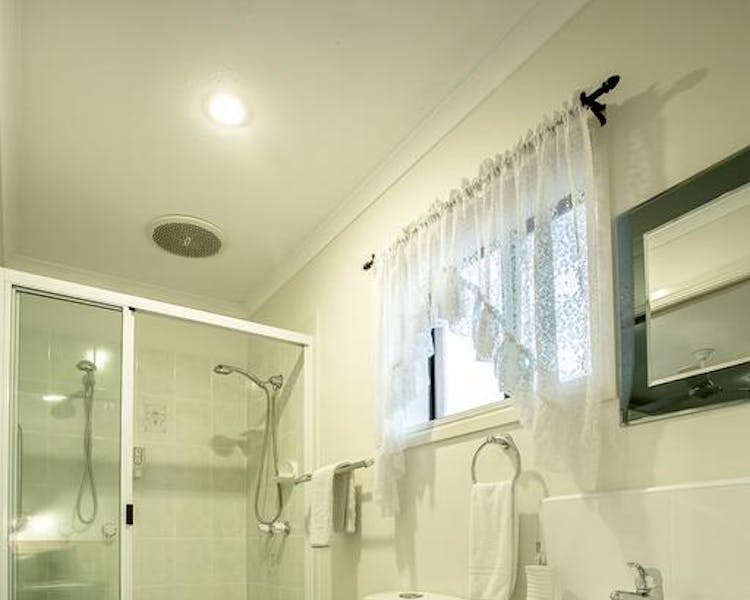 2 Bedroom Unit Shower + Toilet