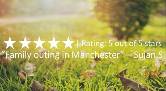 Grass with tripadvisor review and link